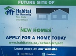 Oxford Prepares for Third Habitat Home