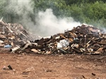 Pugwash Dump Fire Re-kindled by Morning Wind