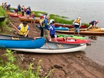 Paddlers Hunt the Pugwash Estuary