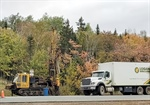 Sinkhole Testing on Trans Canada Highway