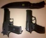 Youth Arrested with Fake Guns