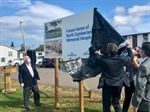 Sign Points to Future Hospital in Pugwash