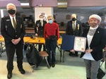 MP Thanks Pugwash Legion for Community Service
