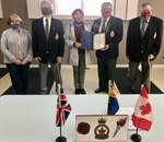 MP Thanks Legion for Community Support of Vets